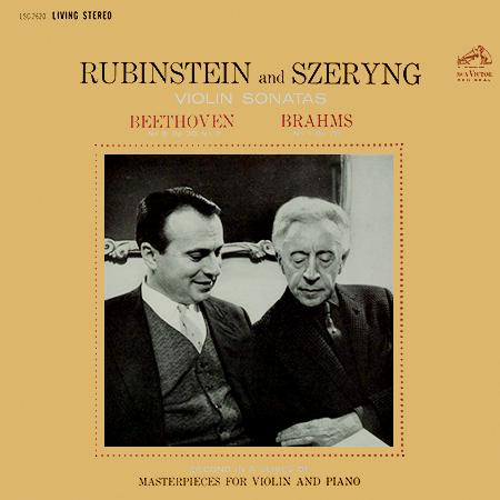 Beethoven Brahms Violin Sonatas Rubinstein Szeryng