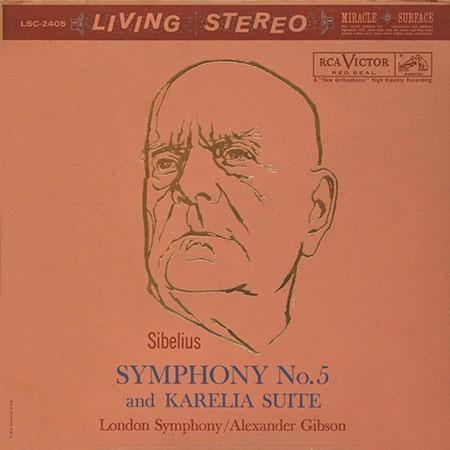 Sibelius Symphony No. 5 & Karelia Suite Gibson