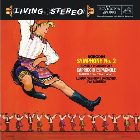 Borodin Symphony No. 2 Rimsky-Korsakov Capriccio Espagnole Martinon