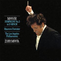 Zubin Mehta Mahler Symphony No. 3 Forrester