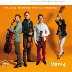 Sibelius String Quartet Meta4