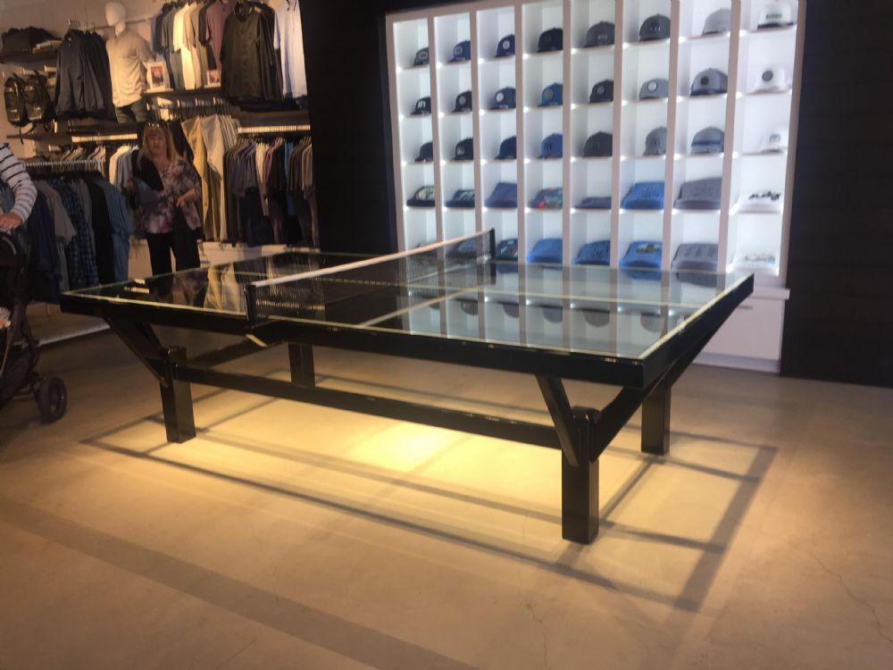 שולחן טניס בעיצוב מיוחד