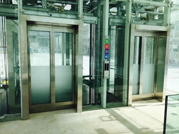 גליפים למעלית מנירוסטה