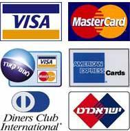 תוצאת תמונה עבור כרטיסי אשראי מכבדים