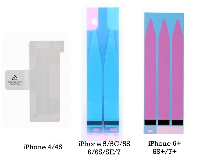 iPhone Battery Adhesive Strips