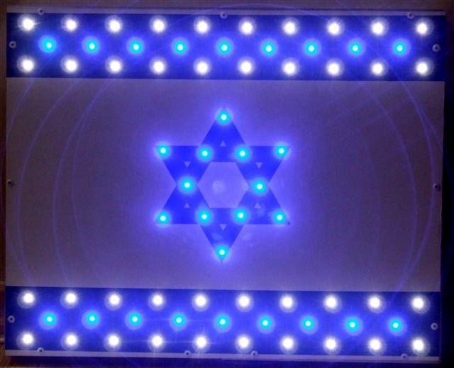 Led-lights flag