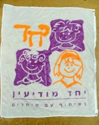 דגלי לוגו בהדפסת משי