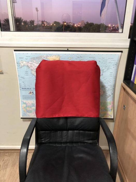 כיסוי למשענות כיסא