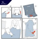 Innovative airline blanket