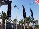 החלפת דגלים ותיקון תרני פיברגלס מסעדת בארכה קסטינה