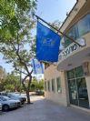 Алюминиевый диагональный флагшток длиной 60 мм 250 см. Установка в здании местного совета Омера