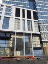 תורן אלומיניום קוני בגובה 6 מטר התקנה בבית לאומי כארד ברחוב הירקון בני ברק
