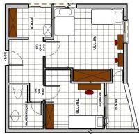 בית מילמן חדר וחצי