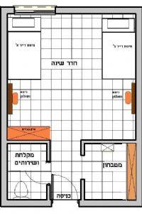 בית מילמן דירת סטודיו
