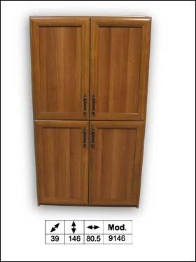 ארונית/יחידת אחסון 4 דלתות דגם COM9146