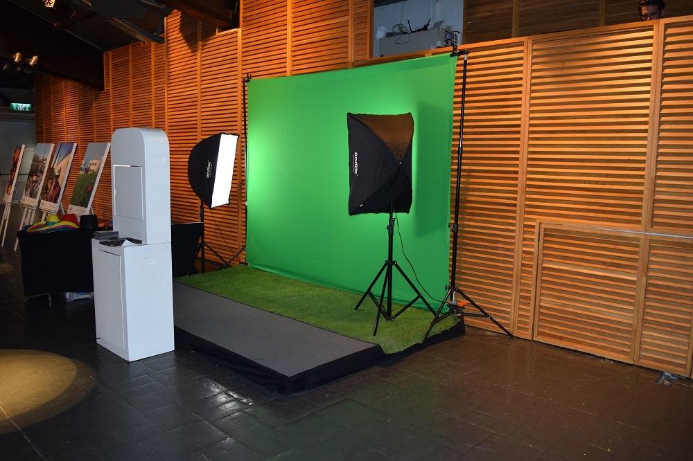 תמונת נושא מסך ירוק לאירועים