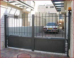 שערים אוטומטים חשמליים-שערים חשמליים-שער אוטומטי