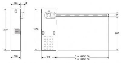 מחסומים חשמליים-מחסום חשמלי-מחסום זרוע חשמלי