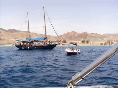 rent a yacht in eilat