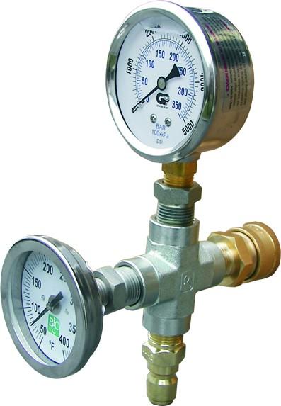 שעון לחץ וטמפרטורה לגרניק