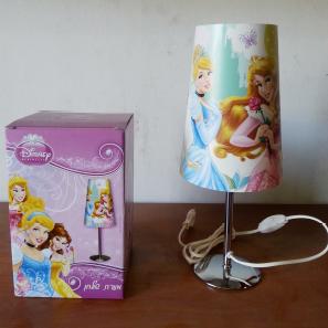 מנורת שולחן רגל ניקל נסיכות