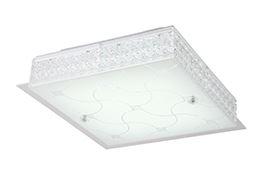 צמוד תקרה קרח מרובע קטן LED 36W