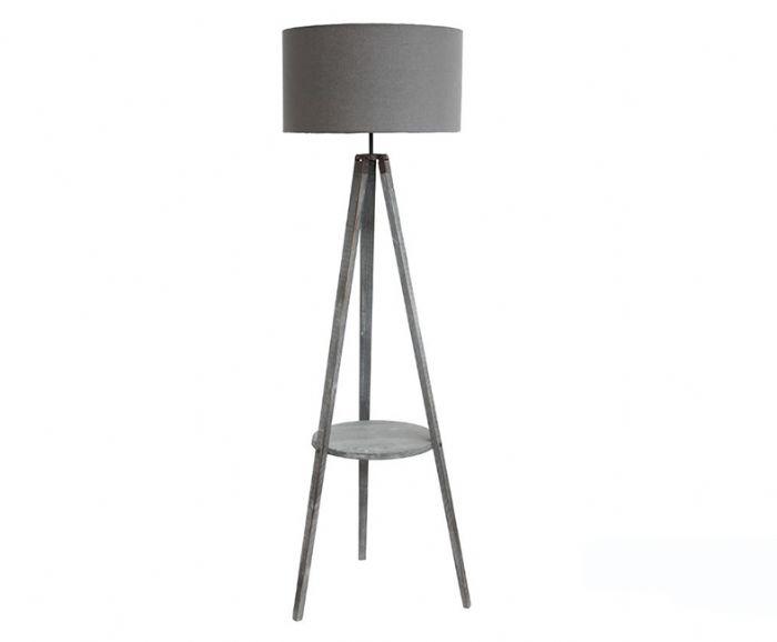 מנורת עמידה קרמבולה עץ