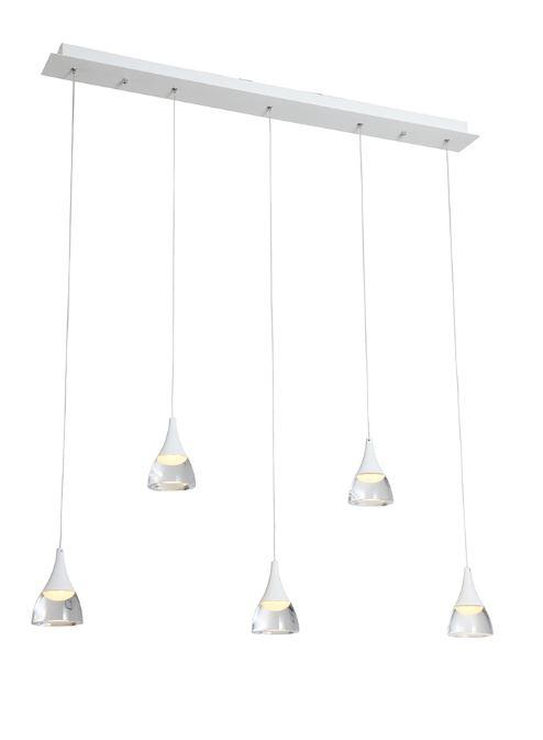 שמפיין 5 על פס LED 25W שחור