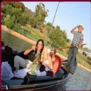 שייט רומנטי בגונדולה באווירה קסומה