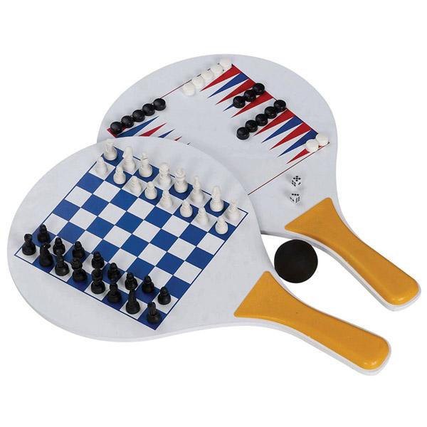 סט מטקות שחמט ושש בש
