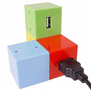 רכזת USB עם קוביה מפרקית