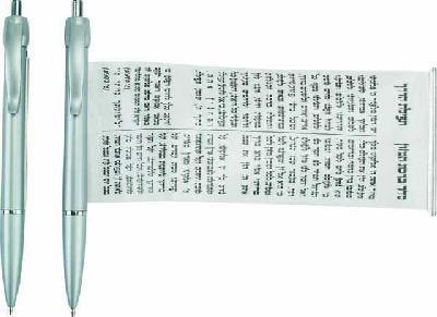 עט עם קלף נשלף