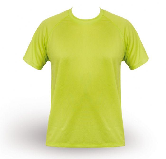 חולצת T מנדפת זיעה- ירוק בהיר