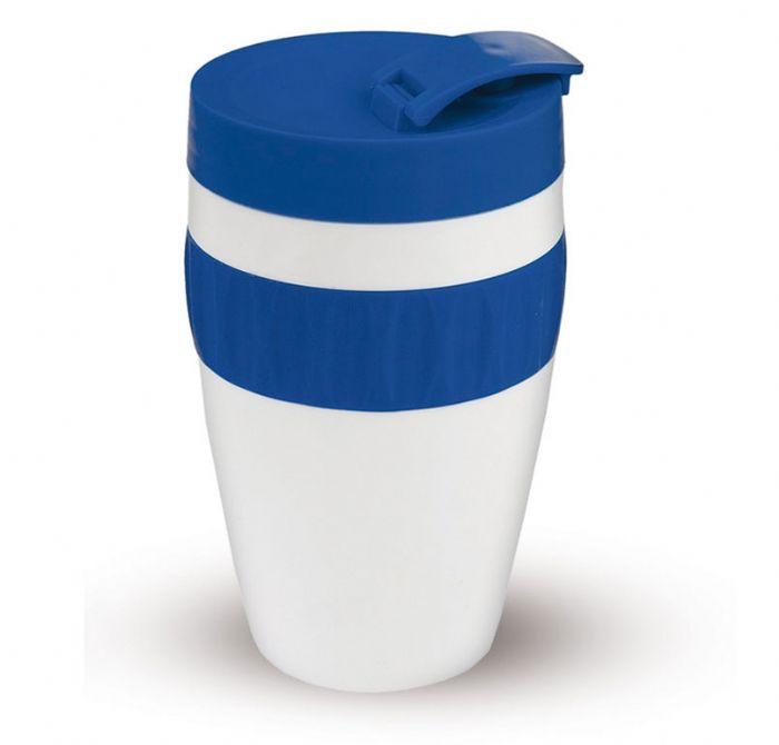 כוס תרמית סיליקון עם דופן כפולה