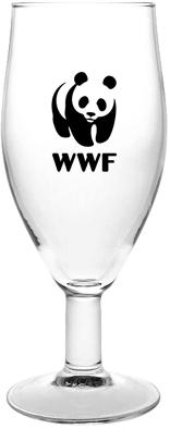 """כוס בירה עם רגל 320 מ""""ל"""