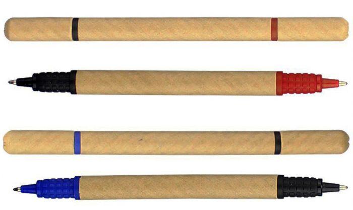 עט ממוחזר עם 2 ראשים