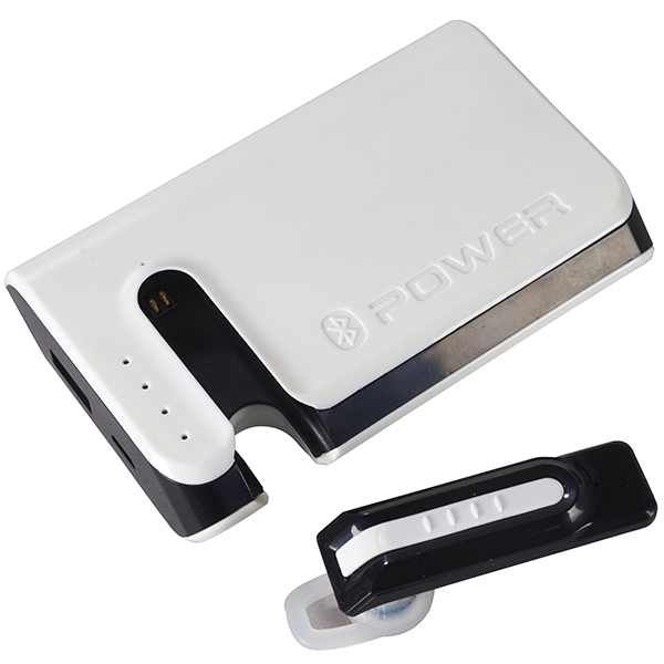 מטען Power Bank משולב עם אוזניית Bluetooth