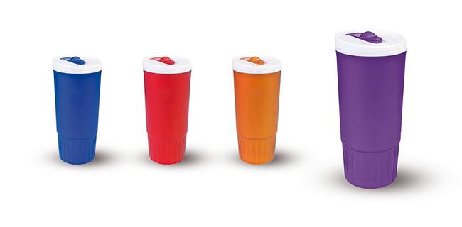 כוס תרמית 0.8L פרוסטי דופן כפולה