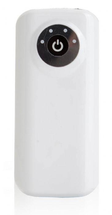 סוללת גיבוי חיצונית נטענת באמצעות USB עם פנס איכותי