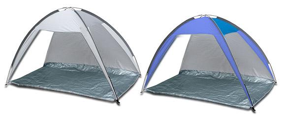 אוהל חוף משפחתי ענק, להגנה מהשמש