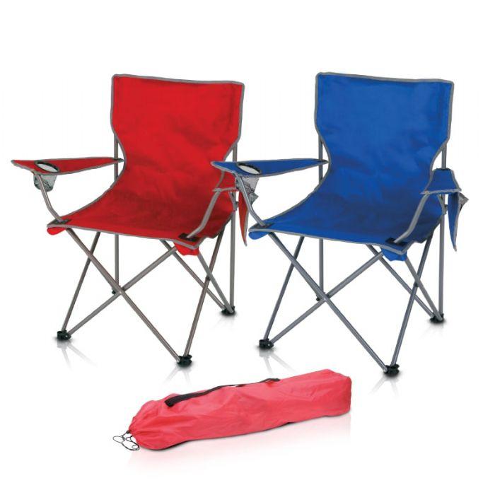 כיסא נוח מתקפל עם כרית לראש