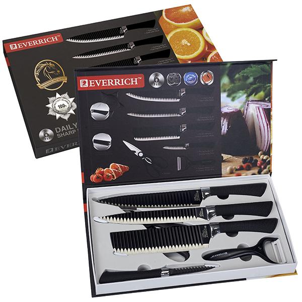 סט 6 סכינים יוקרתי תוצרת Everrich
