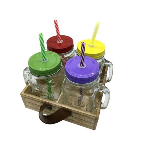 כוסות שייק צבעוניות