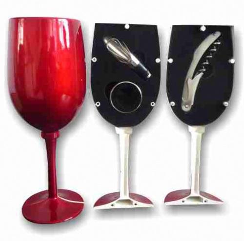 סט פותחני יין בצורת כוס