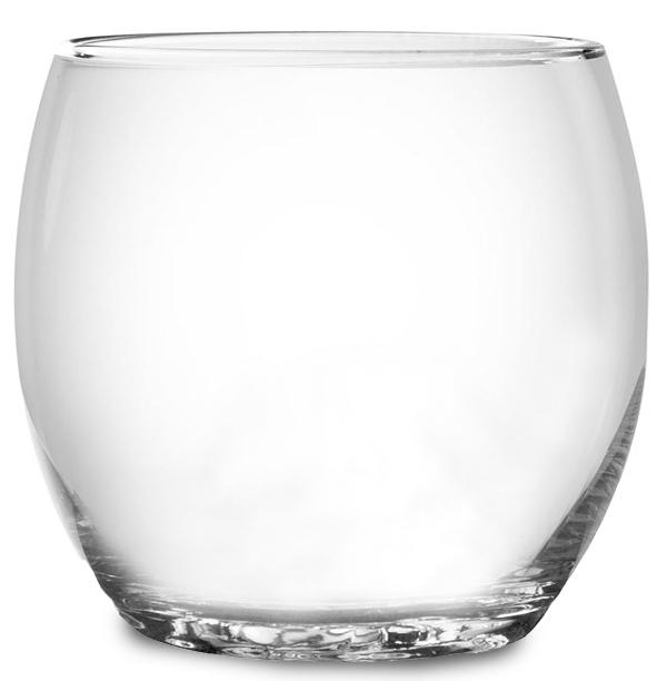 כוס ויסקי עגולה