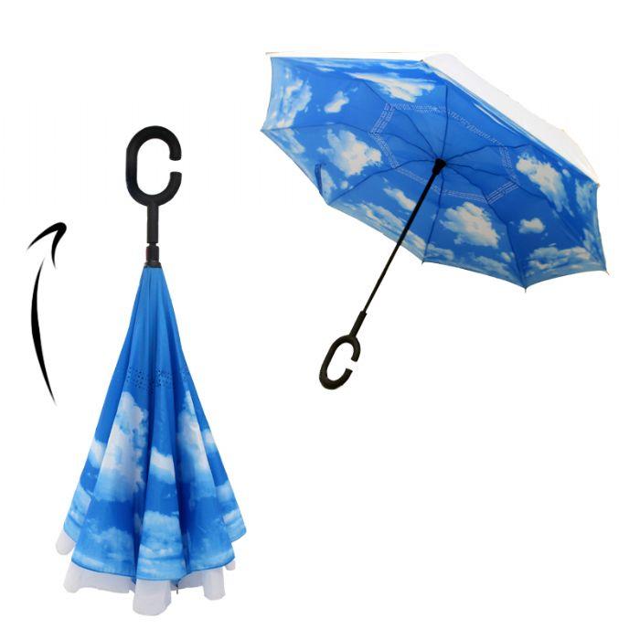 מטריה מתהפכת - פטנט מהפכני!