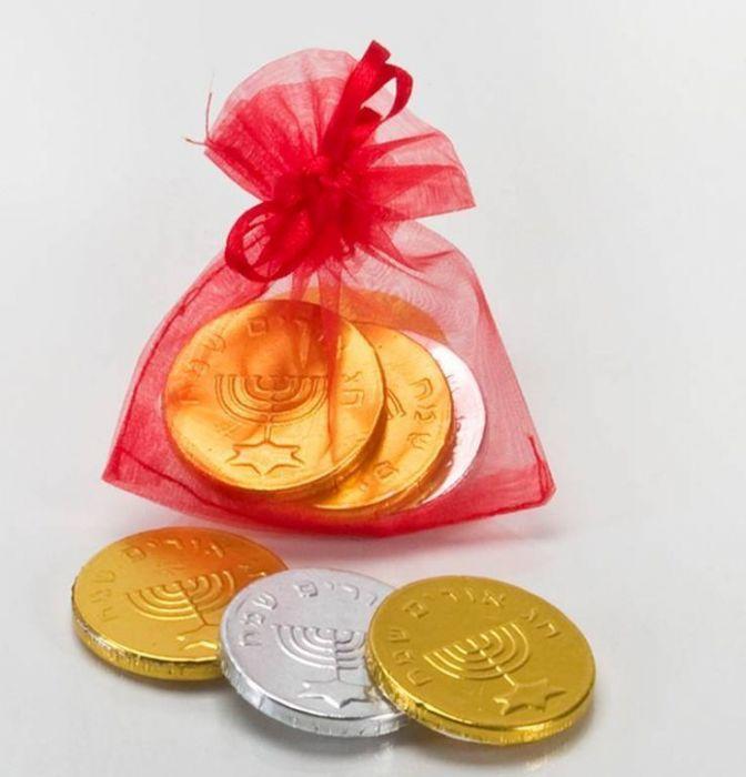 מטבעות משוקולד