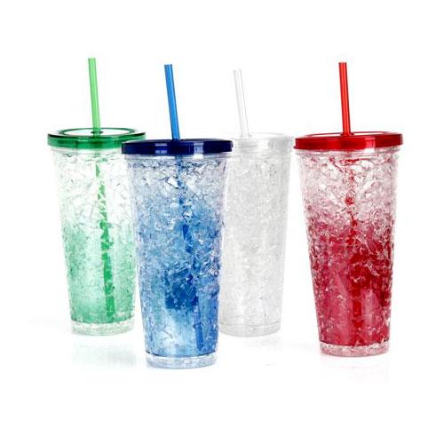 כוס הקפאה מעוצבת עם דופן כפולה