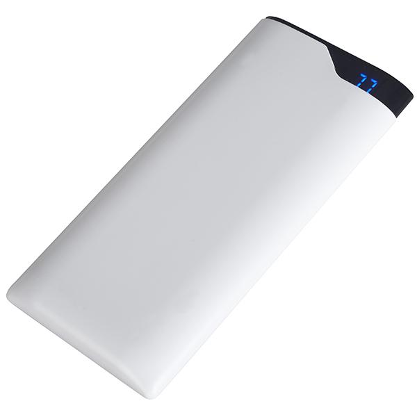 """""""סופר סלים"""" פאוור בנק סוללת גיבוי 12000mAh טעינה מהירה מבית Charge-It"""