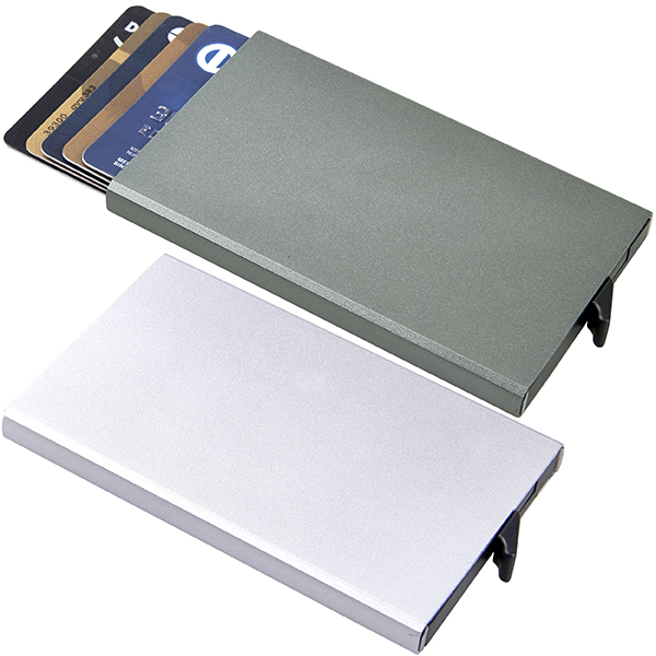 ארנק בטיחות מתכתי לכרטיסי אשראי